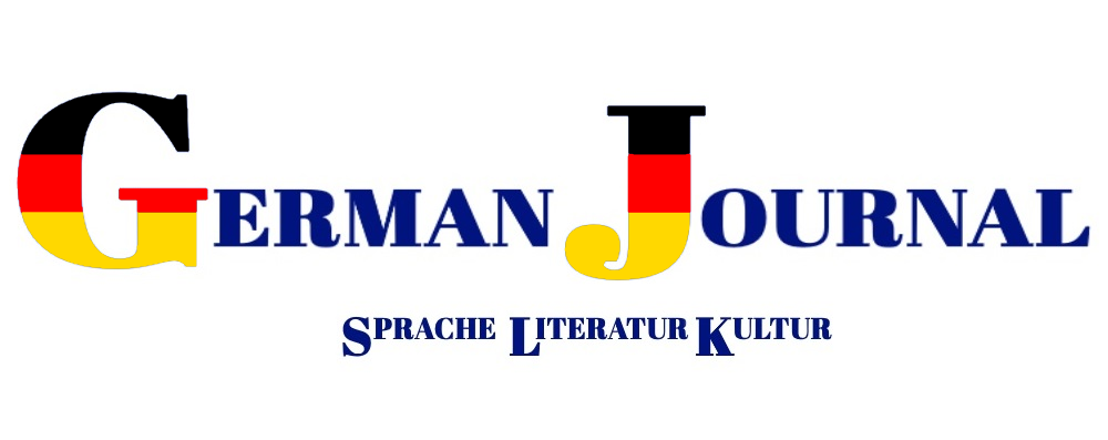 German Journal Sprache Literatur Kultur