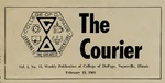 Courier vol 1 no 13 2-15-1968 by College of DuPage