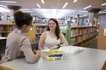 Student Resource Center - Library With Students_14