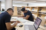 Student Resource Center - Library With Students_20