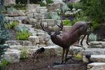 Waterfall Deer 02